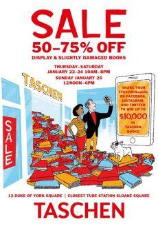 book sale at taschen 50 to 75 event at taschen store in - Taschen Art Book Sale