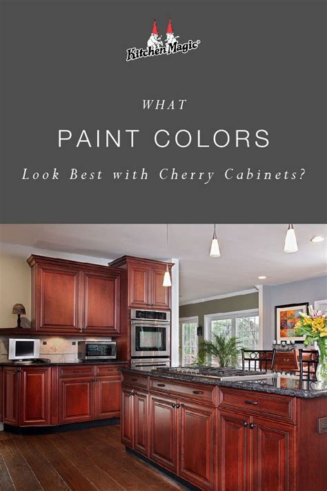 paint colors cherry cabinets 2020 cherry wood kitchen