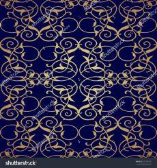 filigree wallpaper pattern seamless pattern filigree background vintage element stock vector 271245701