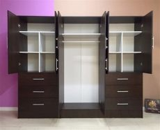 modelos de roperos grandes de madera ropero closet grande matrimonial de melamina resistente s 1 299 00 en mercado libre