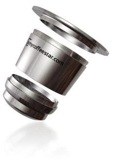 recharge plus capsule price la capsule 224 caf 233 rechargeable nespresso 174