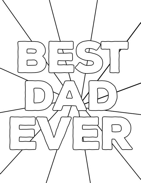 happy father day coloring pages free printables paper