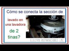 como usar una lavadora de dos tinas c 243 mo conectar el cableado de la secci 243 n de lavado en una lavadora de dos tinas