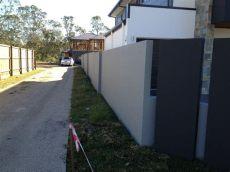 precast concrete fence panels cost tuf concrete fencing precast concrete panel fences for gold coast brisbane coast