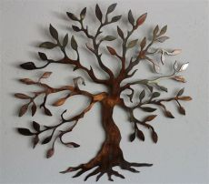 metal wall art uk trees olive tree tree of 40 quot metal wall decor ebay