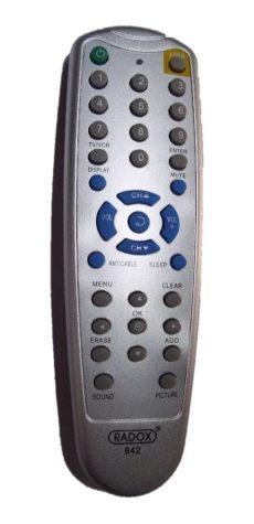 remoto radox universal 842 tv y pantalla 159 00 en mercado libre - Radox 125 842 Manual