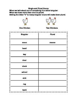 forming plural nouns series worksheets grades 2 3
