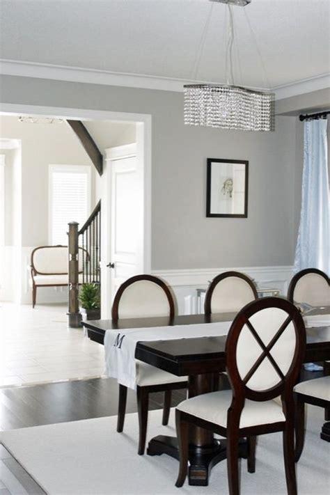 dining room wainscoting benjamin moore revere pewter crystal