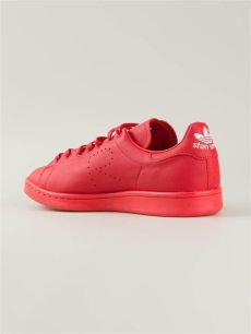 raf simons stan smith red adidas by raf simons stan smith sneakers in for lyst