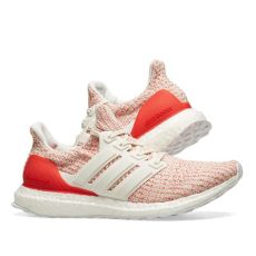 ultra boost 40 white red adidas ultra boost w white chalk active end