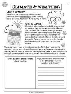 world climate zones kids worksheets google search places
