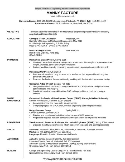 10 fresher resume templates download