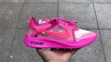 off white x nike zoom fly sp pink black white x nike zoom fly sp pink aj4588 600 the sole womens