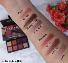 viseart petit pro 2 eyeshadow palette viseart petit pro 2 eyeshadow palette review swatches and makeup look see the world in pink