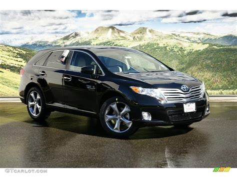 2011 black toyota venza v6 awd 46545367 photo