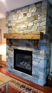 rustic fireplace mantel floating knotty alder salvaged