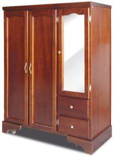 modelos de roperos de madera con espejo ropero de madera modelo laredo en monterrey 3 450 00 en mercado libre
