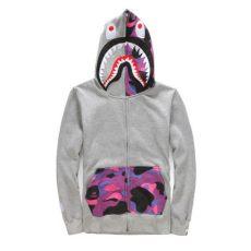 bape shark hoodie purple price new bape camouflage a bathing ape shark zip hoodie sweater jacket hoody ebay
