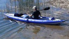 aquaglide chelan hb tandem xl kayak paddled airkayaks - Aquaglide Chelan Hb Tandem Xl Inflatable Kayak Review