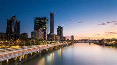 cityscape wallpaper for walls australia australia brisbane city cityscape skyscraper river reflection sunset wallpapers hd