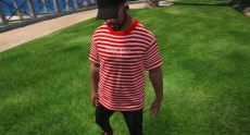 guess asap rocky indonesia guess x asap rocky stripes t shirt gta5 mods