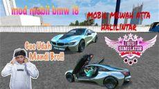 harga mobil sport bmw atta halilintar ngeblong dengan mobil mewah atta halilintar mod bussid bmw i8