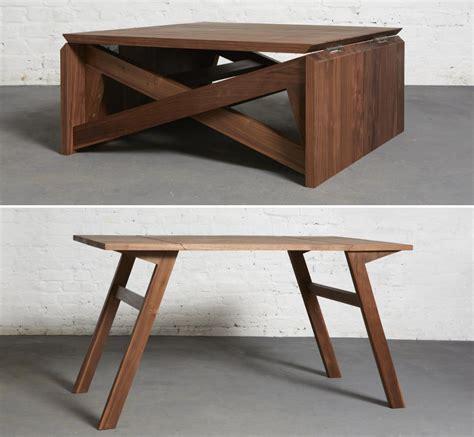 furniture transforming space saving coffee table