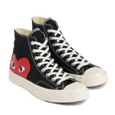 play comme des gar 231 ons converse chuck all 70 high black - Play Converse Chuck Taylor All Star 70 High White