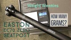 easton ec70 seatpost weight easton ec70 zero carbon seatpost weight weenies 27 2mm x 300mm