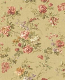 country cottage floral wallpaper wallpaper designer country cottage floral roses and wisteria ebay