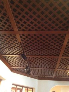 cool ceiling treatment for basement for the home - Inexpensive Basement Ceiling Treatments