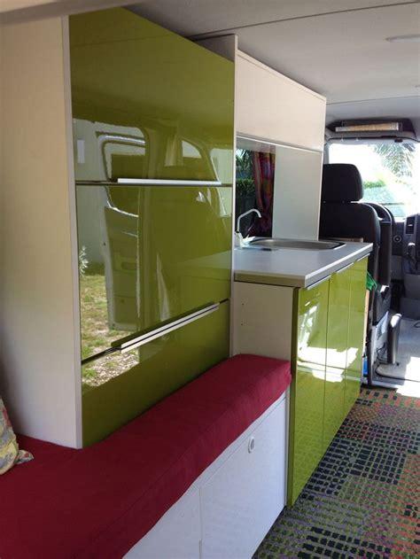 Camper Van Interior Cabinets