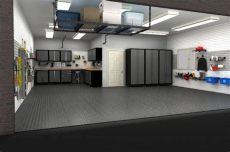 3 car garage design by size idea gallery garage design garage interior garage - 3 Car Garage Interior Ideas