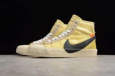 off white x nike blazer mid vanilla white x nike blazer studio mid canvas pale vanilla black total orange for sale 2019