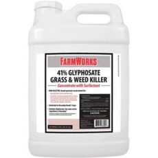 farmworks 41 glyphosate plus reviews farmworks grass killer 41 glyphosate concentrate 2 1 2 gal at tractor supply co