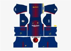 dls 18 kit barcelona goalkeeper barcelona nike home kits 2017 2018 dls 18 kits barcelona transparent png 509x510 free