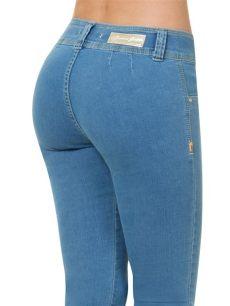 183 furor de mezclilla dama levanta pompas 559 00 en mercado libre - Jeans Furor Dama