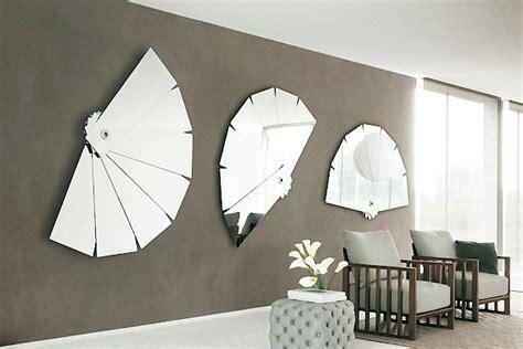 28 unique stunning wall mirror designs living room