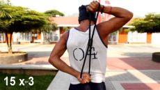 ejercicios con ligas cortas para brazos como entrenar con harbinger leagues parkour