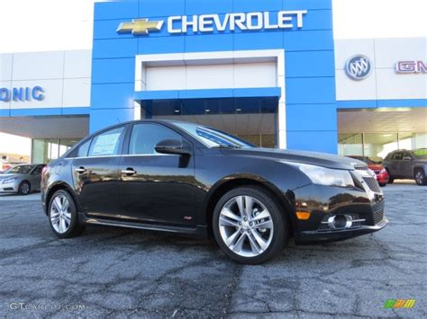 2014 black granite metallic chevrolet cruze ltz 90677929