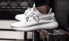 yeezy 350 boost all white a detailed look at the all white adidas yeezy boost 350 v2 highsnobiety