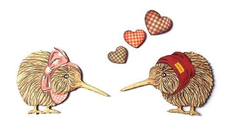 cute kiwi bird couple wall http shopenzed cute