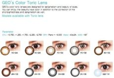 geo medical contact lens review geo color toric lens geo co ltd