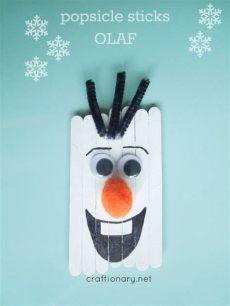 diy craft stick santa snowman craft for kids craftionary