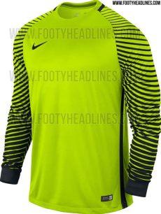 nike 2016 17 teamwear kits released footy headlines - Nike Goalkeeper Kit
