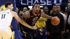 jr smith shoes playoffs 2018 j r smith explains strange play in 1