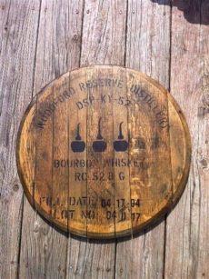 bourbon barrel lid art woodford reserve bourbon whiskey bourbon barrel lid woodford reserve woodford reserve