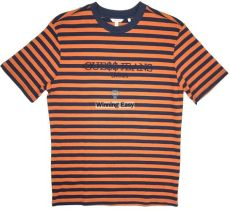 guess x asap rocky ebay guess x asap rocky orange stripes t shirt ebay