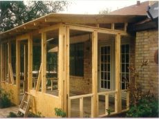 screened porch plans house plans with screened porches do it yourself house plans treesranch - How To Build A Back Porch On A Mobile Home