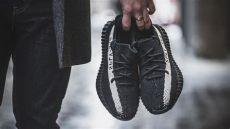 yeezy 350 v2 black white on feet review on adidas yeezy boost 350 v2 quot black white quot